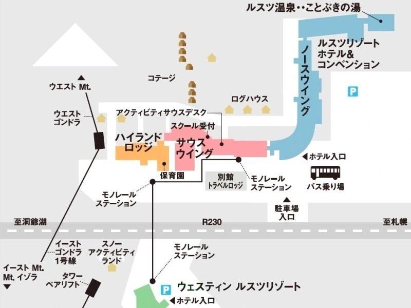 リゾート内配置図