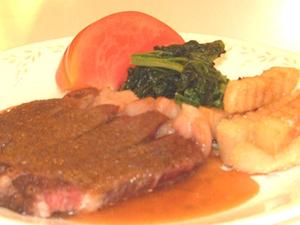 特選お料理プラン《県産牛ステーキ》 やっぱり肉が好き♪