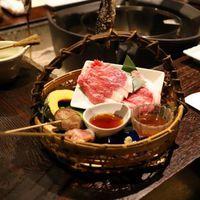♪ぐんま肉グルメ♪赤城牛を使った肉料理!3種類からセレクト(ステーキ・源泉しゃぶしゃぶ・すき焼き)