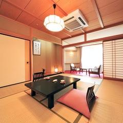女性に人気の純和室 登竜館10畳+広縁(禁煙室)