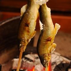 ≪期間限定≫11,000円〜!夕食は【炭火山里料理】&総檜造りの貸切風呂「鄙の湯」1回60分無料!