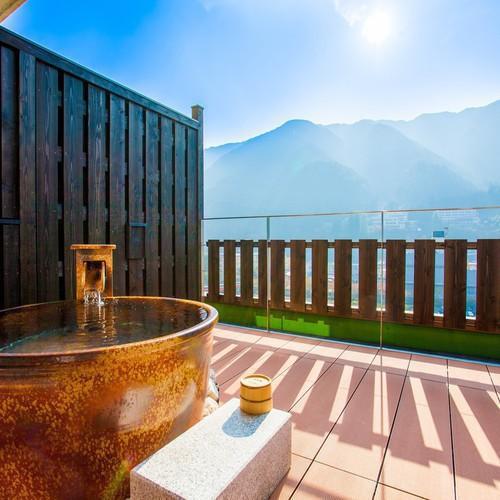 伍睦 -飛騨川を臨む露天風呂付和室-