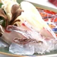 """◆テレビCM放映記念◆今が旬!『鯛しゃぶと和牛朴葉焼会席』さらに""""飛騨牛炙り握り""""付き♪"""