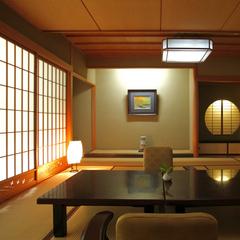 【対峰閣・特別和室12.5畳】黒部峡谷を望む和室