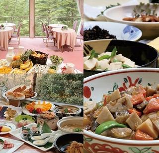 ご夕食は『金風会席』◆黒毛和牛陶板焼き&海老湯葉揚げ&蟹の砧巻◆【特典】テニスコート2時間無料