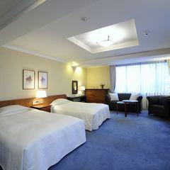 デラックスツインルーム/全館禁煙:ホテル最上階の特別室