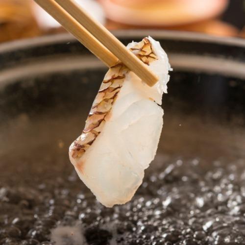 さき楽14【鯛姿盛り&鯛しゃぶ会席】八汐ベストセラー!新鮮な鯛をしゃぶしゃぶ&姿造りで味わう