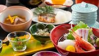 【お食事は個室食事処でゆっくりと】能登海の幸を満喫!能登会席プラン