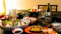 【さき楽28★1000円オフ】<お食事は個室食事処でゆっくりと>能登海の幸を満喫!能登会席プラン