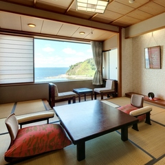 海が見える基本和室10畳◆個室食事処