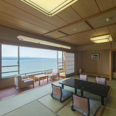 【新館:涌浦館】8-9F上階確約!ワイドオーシャンビュー和室