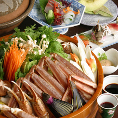【お手軽に蟹を堪能】最後はモチロンぞうすいで♪旬をかにスキで味わう