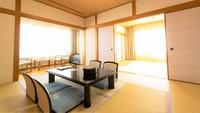 【禁煙】広めの和室(10畳+8畳) 阿蘇山ビュー