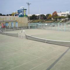 【テニスコート2時間無料】テニスで思いっきり汗を流した後は『七福の湯』でリフレッシュ!(朝食付)