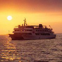 【2連泊でディナークルーズ1回付】カップルにお勧めの大型船でサンセットを楽しむ 〜朝食付き〜