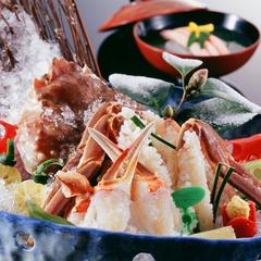 【特選】一級品の地物松葉蟹で用意する、冬季だけのフルコース 松葉蟹会席