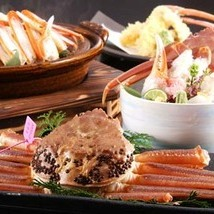【冬の名物プラン】一人一杯の地物活松葉蟹でお好みの調理法を選ぶ 松露亭オリジナル松葉蟹プラン
