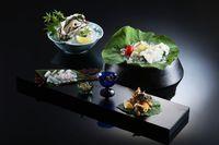 【涼を楽しむ夕食】3種の食材で楽しむ京都・丹後の味覚三昧プラン(鱧・天然岩がき・おこぜ)