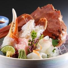ほっと一人旅・・・「蟹」を満喫!〜地物活松葉蟹1杯をお好きな料理法で自由にアレンジ!