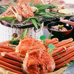 【松露亭のおススメ】その日獲れたての地物活松葉蟹のフルコース。松葉ガニ会席プラン