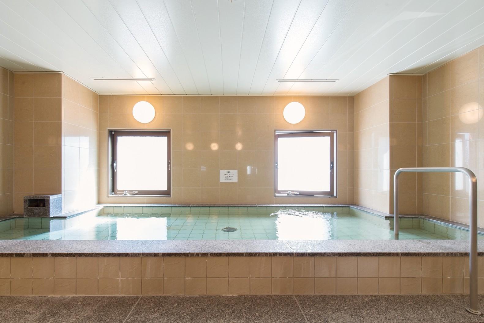 ゆっくりできる大浴場