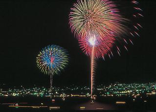 【8/13☆★☆関門の夜空に感動を☆★☆】  関門海峡花火大会