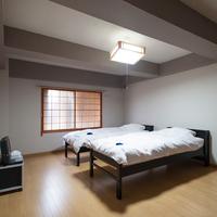 【本館】洋室ツインルーム(バストイレなし・ビジネス用)