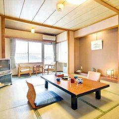 【和室10帖】エンジェルロードと瀬戸内海一望の純和風客室♪