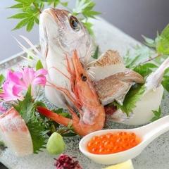 【料理重視★ポイント2倍】香川牛ステーキ♪アワビ陶板焼き♪鯛姿造りの豪華会席♪海一望の露天風呂♪