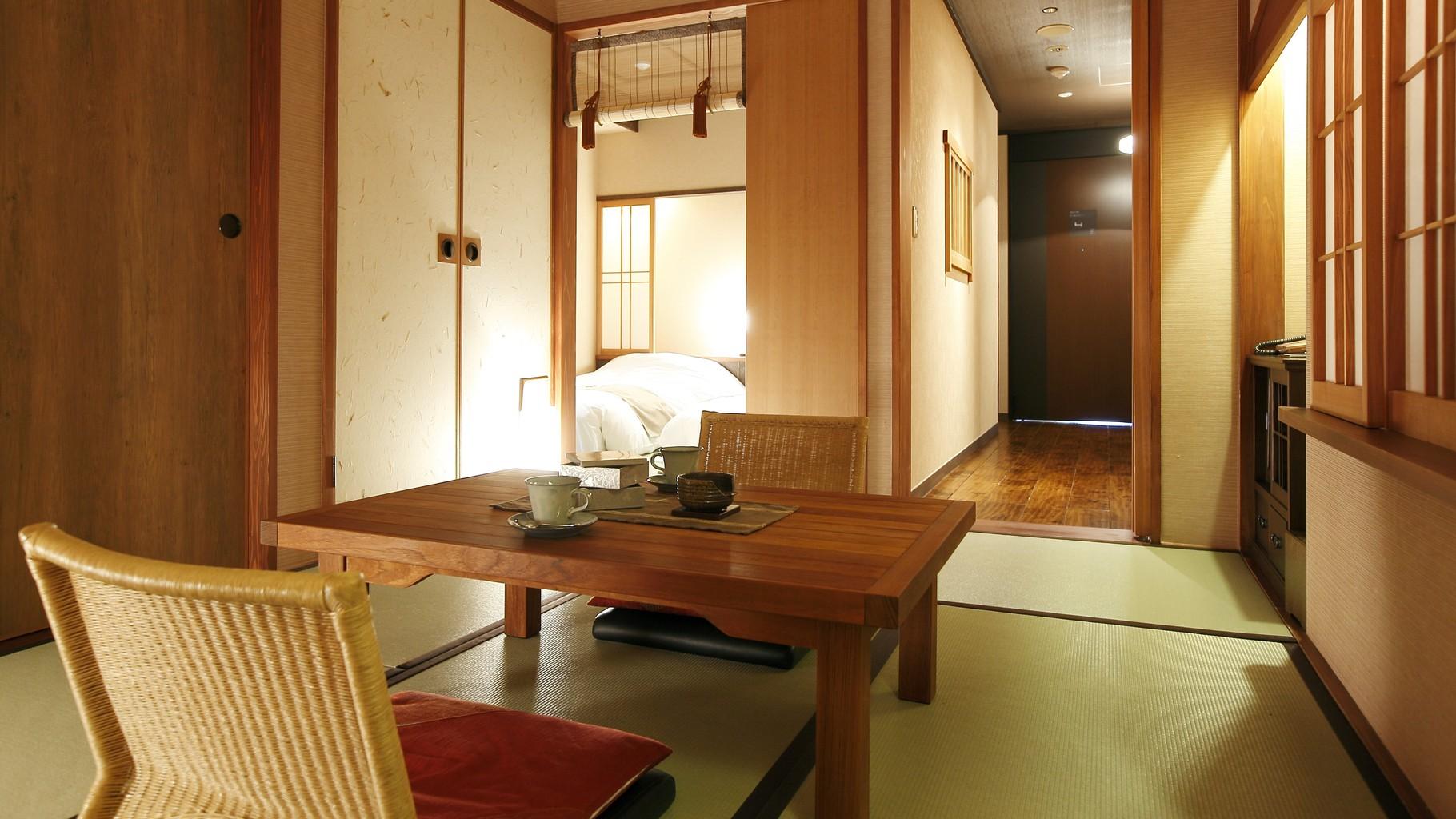 温泉露天風呂付き和洋室A36平米