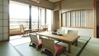 【上層階】温泉露天風呂付きスイートルーム(5名定員)54平米