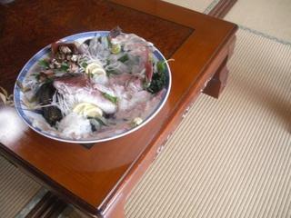 当館人気 【天婦羅好きなお客様に♪】地魚の刺身+宝楽焼+天ぷらプラン