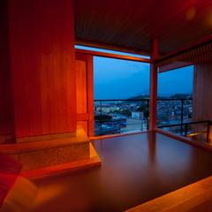 ◆【基本】1泊2食付プラン◆【海側眺望】露天風呂付和室