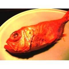 【金目姿煮1人1尾付き・地魚刺身盛り】 ご飯がススム地魚料理!