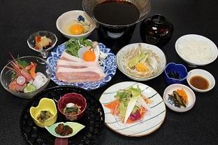 一泊2食付プラン(梅+和牛すきやき).