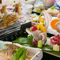 【料理長オススメ会席】 〜欲ばり三昧〜 『和牛×海の幸』 熊本のウマいを全て味わうならコレ!