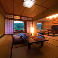 【特別室 -翠嵐楼 和洋-】(和室10畳+3畳+洋)