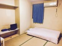 シングル朝食付◇和室(男性限定)バストイレ別