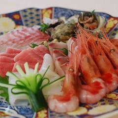 『福井の「美味い魚」と「旨い酒」プラン【海幸】』 選べる福井の地酒付!新鮮お刺身とともに♪