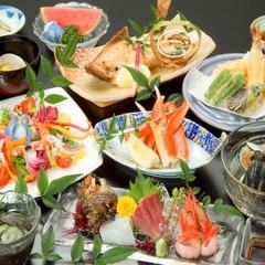 ポイント10倍〇ビジネスにもお勧め「福井海の幸お造り定食」付お手軽プラン