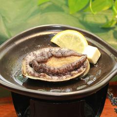 【選べる調理法】新鮮・鮑を「お造り」or「温泉蒸し」で食す♪