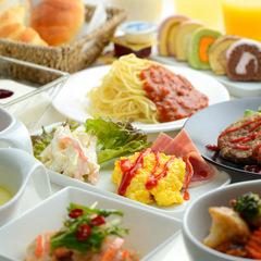 週末はリッチな朝食で1日をスタート♪週末限定朝食バイキング付プラン!!