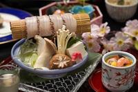 桜鯛の鍋しゃぶと春の会席≪1泊2食付き≫