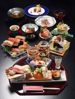 ◆◇最上級会席◇◆ かにしゃぶ&金目鯛&焼きタラバガニで舌鼓♪ ≪1泊2食付き≫