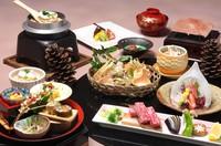 ◆◇最上級会席◇◆旬の恵みづくし会席≪1泊2食付き≫