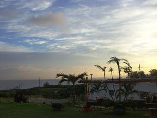 夕暮れの古宇利島でBBQ♪デッキテラスでBBQセット付きプラン【1泊2食付】