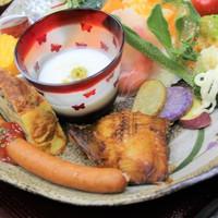 【部屋食】1組限定☆当館特製ビーフシチューがメインのディナー♪1泊2食