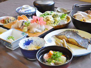 【夕食付】新鮮な四季の味たっぷり☆恵山満喫プラン