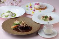 【京都唯一の回転展望レストラン】本格フレンチフルコースを堪能!美食プラン