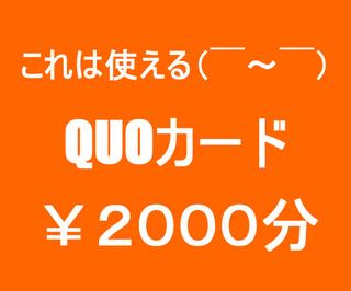 使える!!!!!!(*○゜∀゜O)【QUOカード¥2000分】付プラン♪